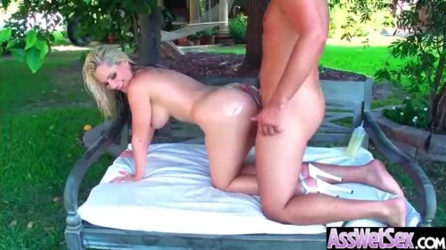 Anal hard sex scene together with slut huge buttocks haired girl (alena croft) video-03
